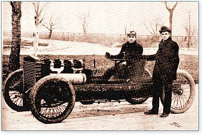 The 999 race car and Henry Ford