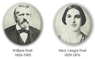 Henry Ford parents - Mary Litogot Ford and William Ford