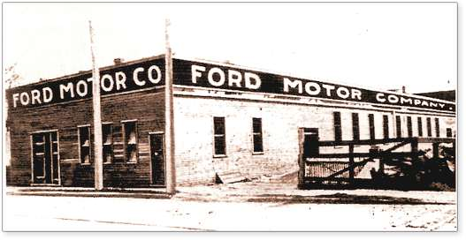 1903First Model A Sale Mack The Ford Motor Company