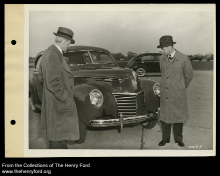 Lincoln motor car company purchased henry ford heritage for Lincoln motor car company